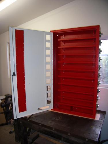 výdejní automat  otevřený